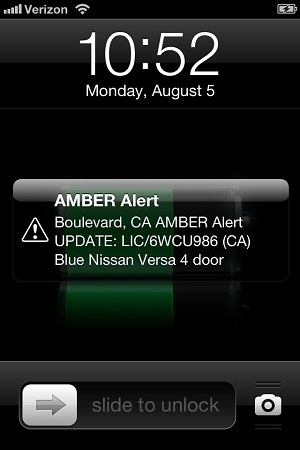 amber alert on iphone alert usability furbo org 1225