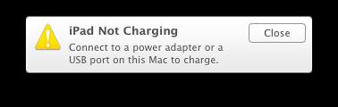 NotCharging