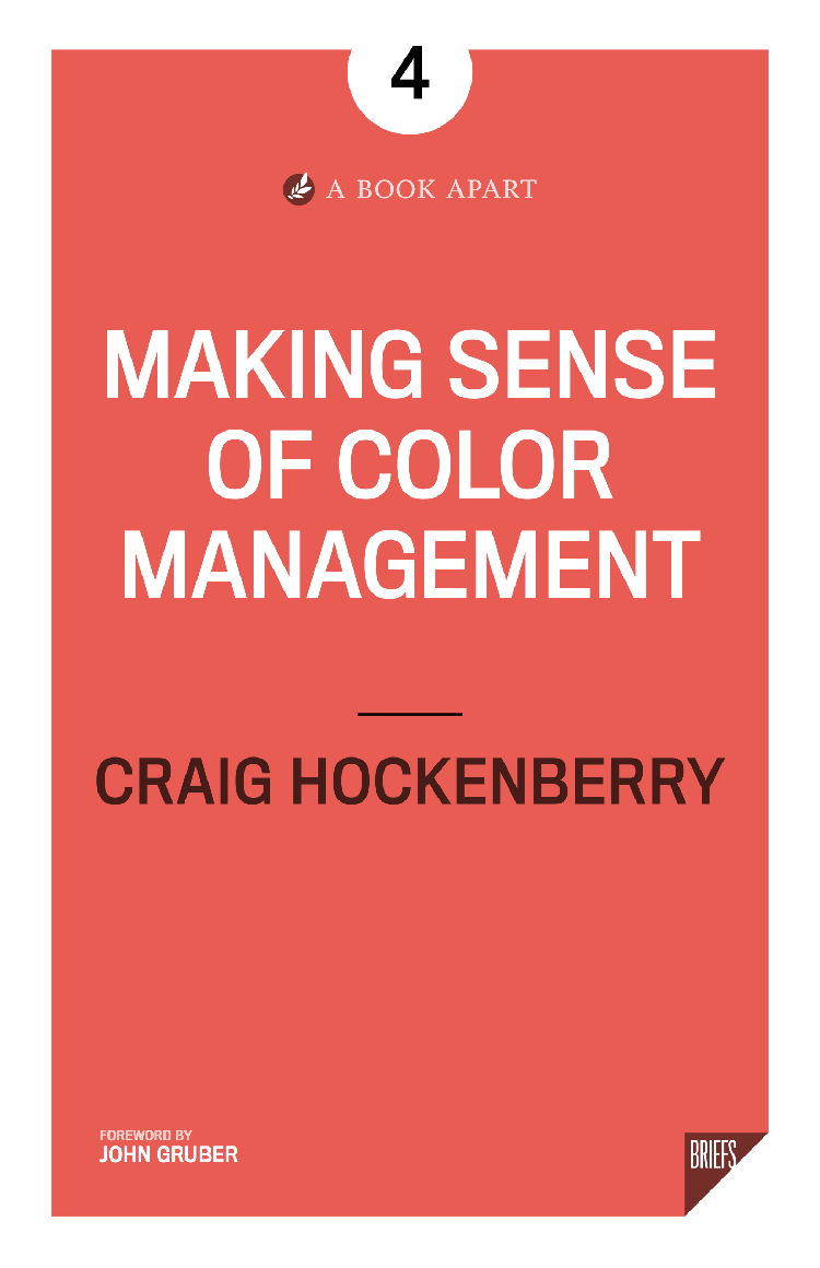 Make sense of color management Book cover